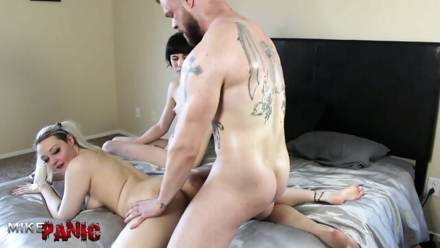 Trans Step-Sister.. amateur bareback blowjob