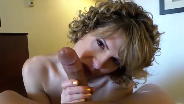 Tgirls handjob big tits blonde blowjob